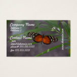Natural Butterfly Business Card