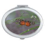 Natural Butterfly Compact Mirror