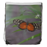 Natural Butterfly Drawstring Backpack