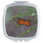Natural Butterfly Makeup Mirror