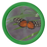 Natural Butterfly Set Of Poker Chips
