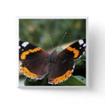 Red Admiral Butterfly Pin