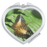 Winged Butterfly Compact Mirror